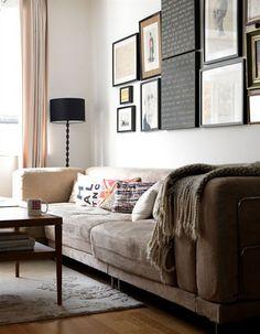 gallery, sofa