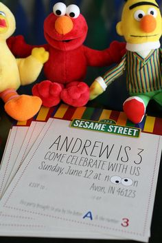 the BEST Sesame Street party I've seen! love the invites, the food, the games, everything!
