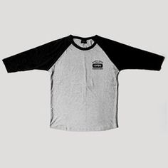 Convicts Raglan Blk/ Hthr Gry – Pact Store