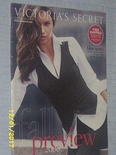 VICTORIA'S SECRET CATALOG Fall Fashion Preview 2006 Vol. 2 VG COND. | eBay