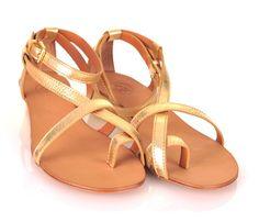 Ash gold Lips sandals - £125    http://www.stanwells.com/by-designer-1/ash/ash-gold-lips-sandals