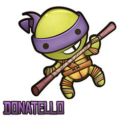 Donatello TMNT by Squid and Pig www.squidandpig.com