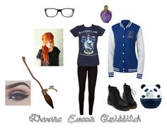 """""""Quidditch Theresa Evans"""" by jessica-comley ❤ liked on Polyvore featuring Nimbus, Ray-Ban and Tony Moly"""
