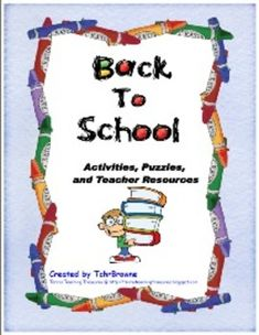 This is a 40 page Back to School unit! Fun, exciting activities for your students to do during the first month of school. Includes everything from puzzles, games, art lessons, and poem activities to teacher resources and templates. Answer keys are included where possible.