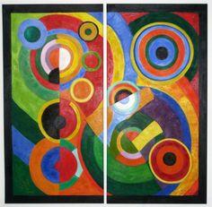 Robert Delaunay - Rhythm, 1912