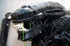 The best Lego Aliens in honor of H.R. Giger
