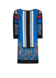 MANGO - Abito stampa foulard