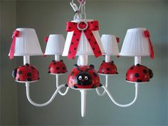 Chandeliers For Baby Nursery Http Chandeliertop Com Chandeliers For Ladybug Roomladybug Decorladybug Nurserybedroom