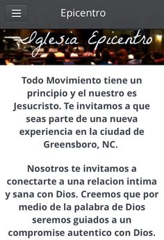 Visit our new website http://soepicentro.org