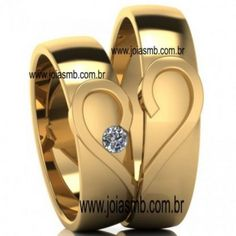3dd9818b8a78d 255 melhores imagens de Alianças de Casamento Anapolis   Goias ...