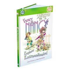 LeapFrog Tag Activity Storybook Fancy Nancy: Explorer Extraordinaire by LeapFrog. $12.59. Use your Tag Reader to bring this story to life as the fanciest girl around explores the outdoors. Children can earn online rewards and parents can connect the Tag Reader to the online LeapFrog Learning Path. Children can build vocabulary and reading skills throughout the story and with interactive learning activities. The Tag Reader makes learning to read an exciting experience as words ta...
