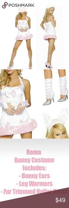 Purple and Pink Fluffy Costume, with headpiece, but the gloves and - last min halloween costume ideas