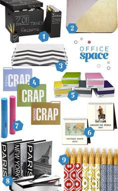 Office supplies...need the CRAP folders