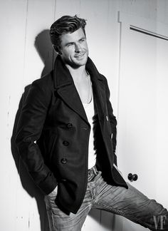 At a mere 32, Chris Hemsworth has checked all the movie-star boxes. Photograph by Bruce Weber.