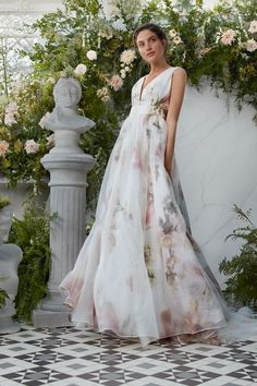 MY DREAM DRESS is a floral fantasy