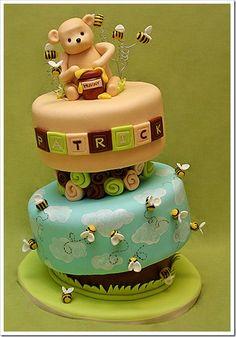 vintage pooh cake idea