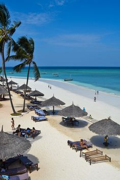 Nungwi Beach, Zanzibar - Beachfront at the Doubletree Resort