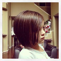 Little girl fashion cut. I think Sophia will rock the bob cut :)