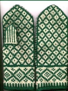 hallandmittens by knitting in color, via Flickr