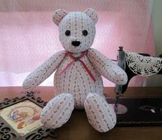 I love sewing for my 18 inch doll American Girl Dolls - Emily and Kit. I also love crochet, copperplate calligraphy and papercraft. Diy Teddy Bear, Teddy Bears, Paper Crafts, Diy Crafts, Love Sewing, Simplicity Patterns, Love Crochet, Quilting Projects, Girl Dolls