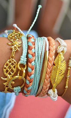 stacking bracelets for summer
