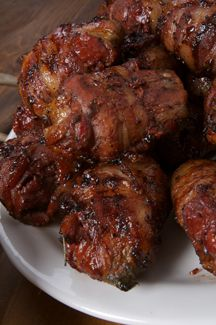 best grilled bacon-wrapped venison backstrap recipe