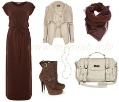 Beige Jackets Combination Ideas  Beige and Brown are a well known mixture and always look great together, you can also try bright brown it would look even more better.