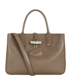 LONGCHAMP Roseau Heritage Tote Bag. #longchamp #bags #shoulder bags #hand bags #leather #tote #