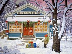 the Old General Store - John Sloane
