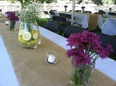 So this is What my Year Looked Like...: Backyard BBQ Wedding Reception