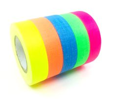 Gaffer Power Spike Tape - Premium Grid and Line Striping Adhesive Tape Tape Crafts, Sewing Crafts, Gaffer Tape, Red Green Yellow, Blue, Tape Art, Stage Set, Adhesive, Arts And Crafts