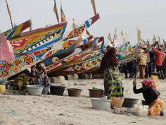 Playa de Gambia. Voluntariado en Gambia