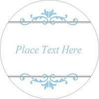 Free Avery Templates  Dotted Border PrintToTheEdge Round