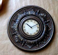 Мастер-класс Поделка изделие Моделирование конструирование Роспись Старинные часы или Антикварная лавка Краска фото 1