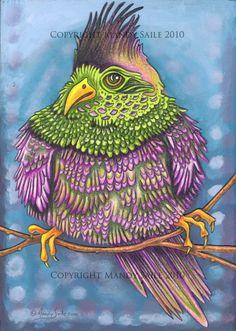 Beautiful Bird 14  PRINT by BijousWhimsy on Etsy, $20.00