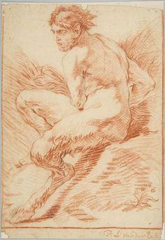 P. L. Van den Eeckhout, Satyr, 18th C.