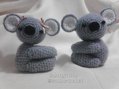 Sr &sra koala @g.mundarain  #crochet #amigurumi  #koala by emiscrochet