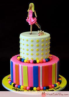 30th Birthday Cake by Pink Cake Box