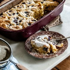 Easy recipe for delicious, buttery sweet blueberry rolls with a cream cheese filling. Make with delicious Einkorn flour!