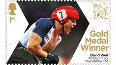 David Weir London 2012 Paralympics