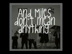 Miles don't mean anything - Eye Alaska [lyrics]