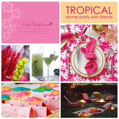 Image detail for -Luau Tropical Dinner Party Ideas   The Party Dress