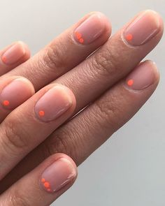 Want to know how to do gel nails at home? Learn the fundamentals with our DIY tutorial that will guide you step by step to professional salon quality nails. Neon Nail Designs, Short Nail Designs, Shellac Nail Designs, Neon Nails, Shellac Nails, Pretty Nails, Cute Nails, Pretty Short Nails, Manicure Y Pedicure