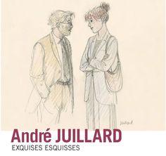 André Juillard s'expose à Bruxelles avec ses Exquises Esquisses - http://www.ligneclaire.info/juillard-bruxelles-32774.html
