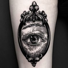 eye in a frame from earlier this week All Seeing Eye Tattoo, Queen Bees, Body Art, Skull, Instagram Posts, Tattoo Ideas, Arm, Nice, Collection