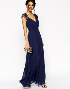 Bild 4 von ASOS TALL Kate Lace Maxi Dress