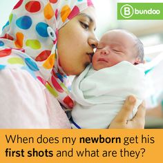 Do you know what vaccines your newborn will receive before leaving the hospital?  Find out what to expect.