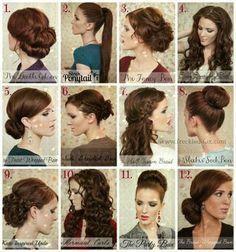 Retro Hair Tutorial Round-up