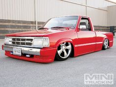 1993 Mazda B2200 Turbo - Custom Mini Truck - Mini Truckin' Magazine