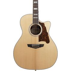 D'Angelico Excel Gramercy Acoustic-Electric Guitar Natural